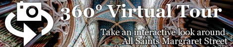 take a 360 degree virtual tour of All Saints