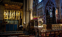pulpit and lady chapel
