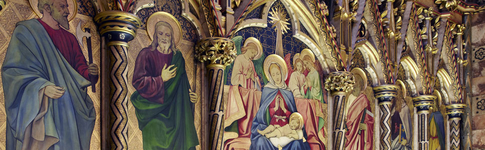 Nativity Frieze (Ninan Comper, 1914)